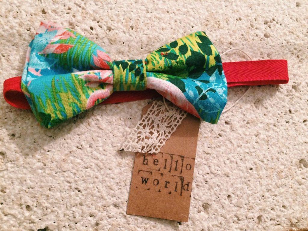 hello world Hello World - patrizia guidi ties papillon