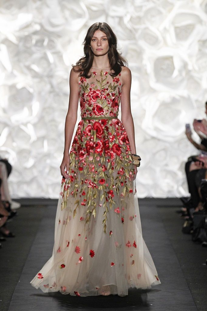 The Embroidered Dress By Naeem Khan