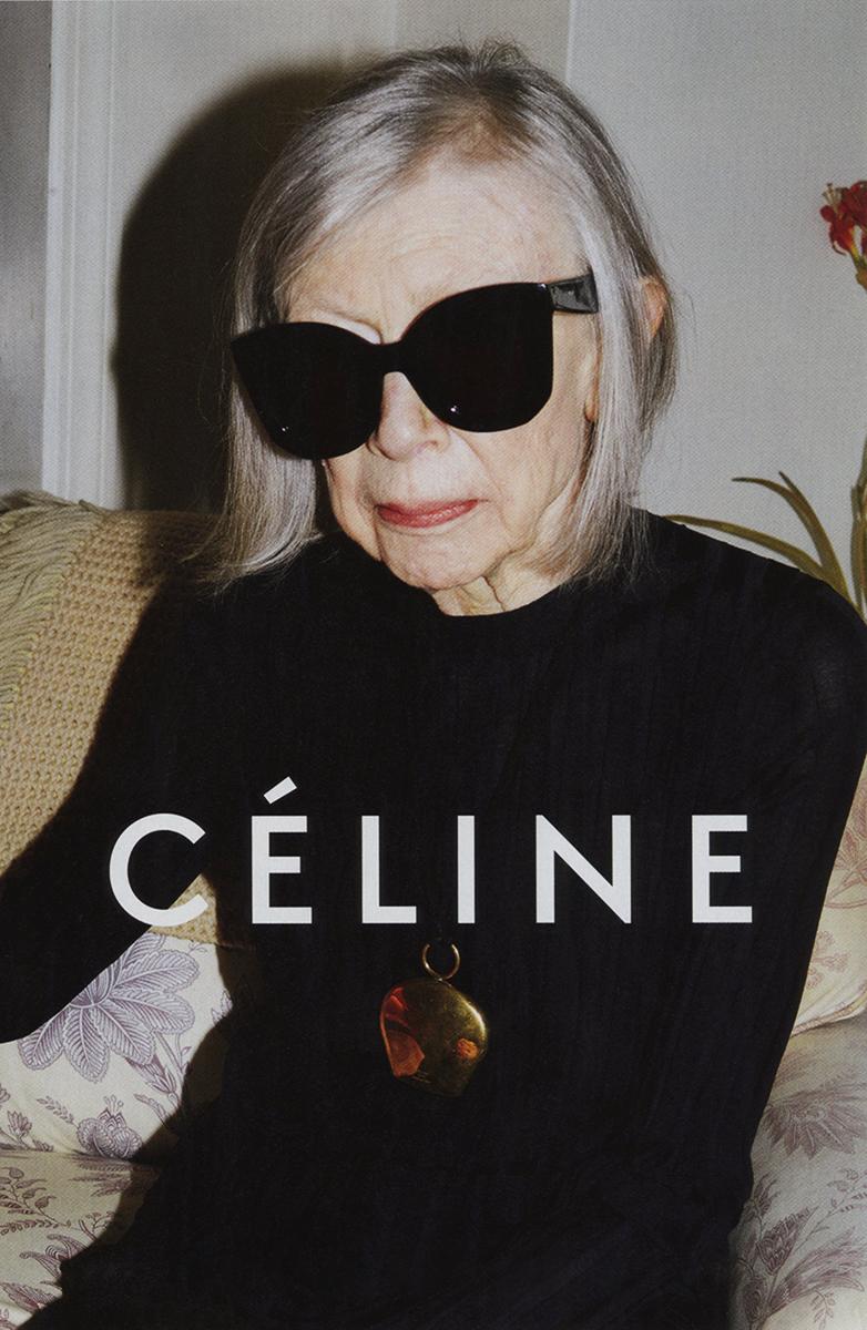Joan Didion Céline spring 2015