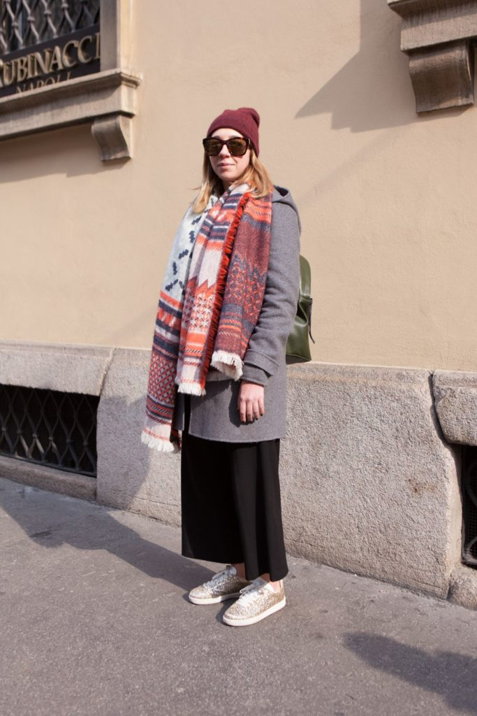 street style during milano fashion week
