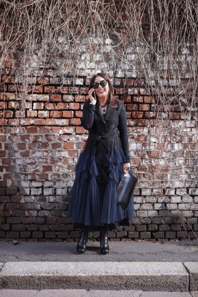 My look the first day at Milano Fashion Week