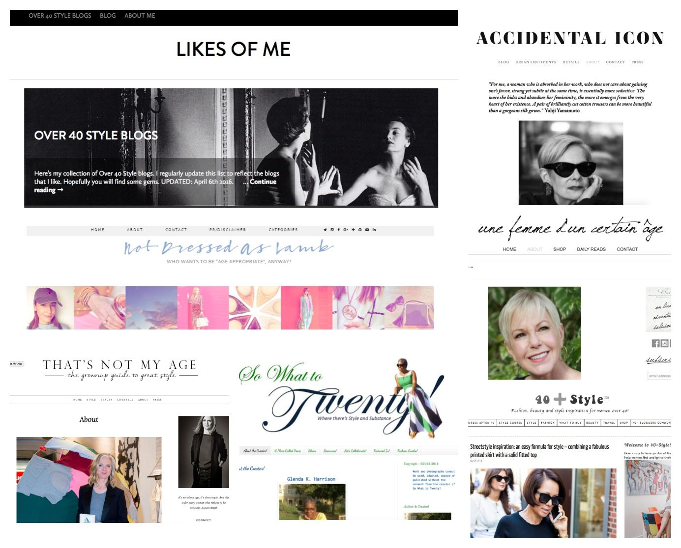 network fashion blog ageless style not only twenty post
