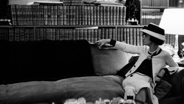 Coco chanel reader exhibition the woman who reads - not only twenty blog