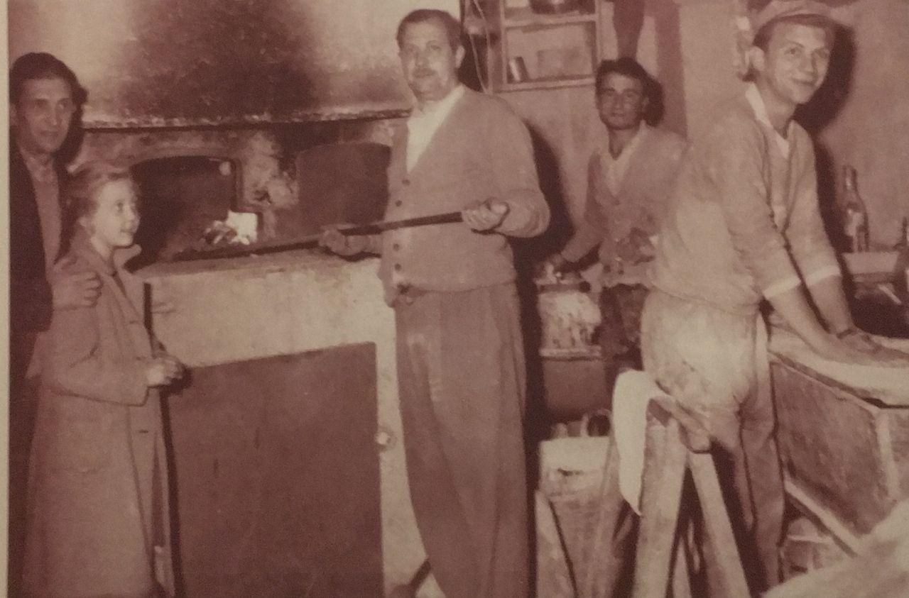 three generations of pizzaioli