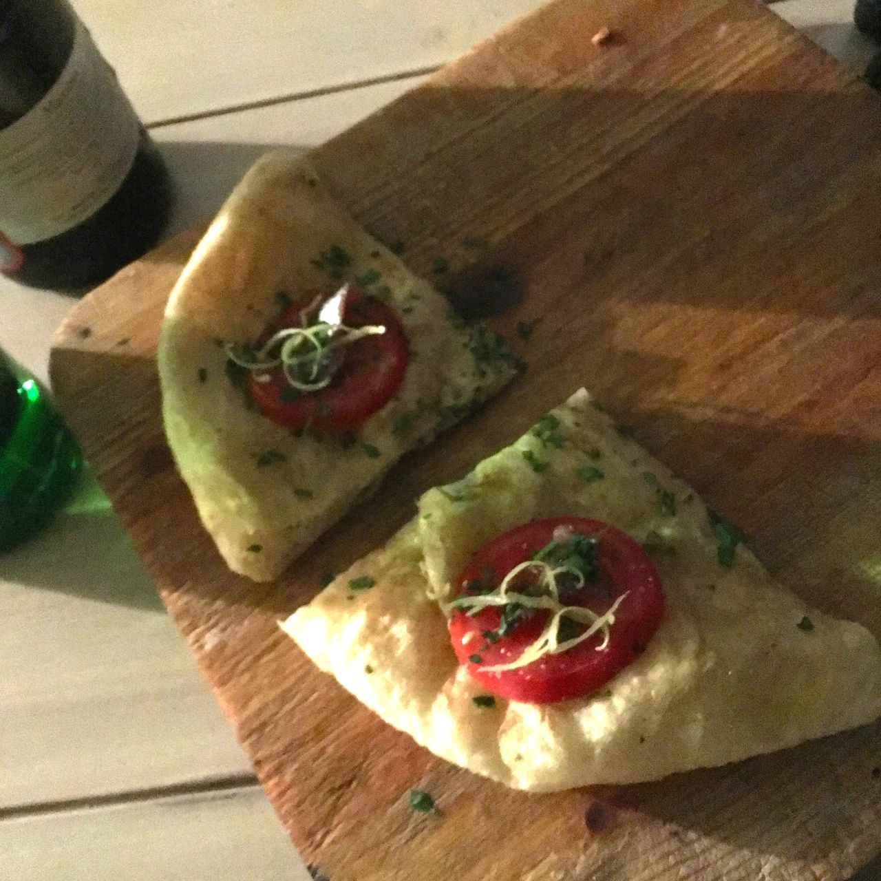 pizza con colatura di alici