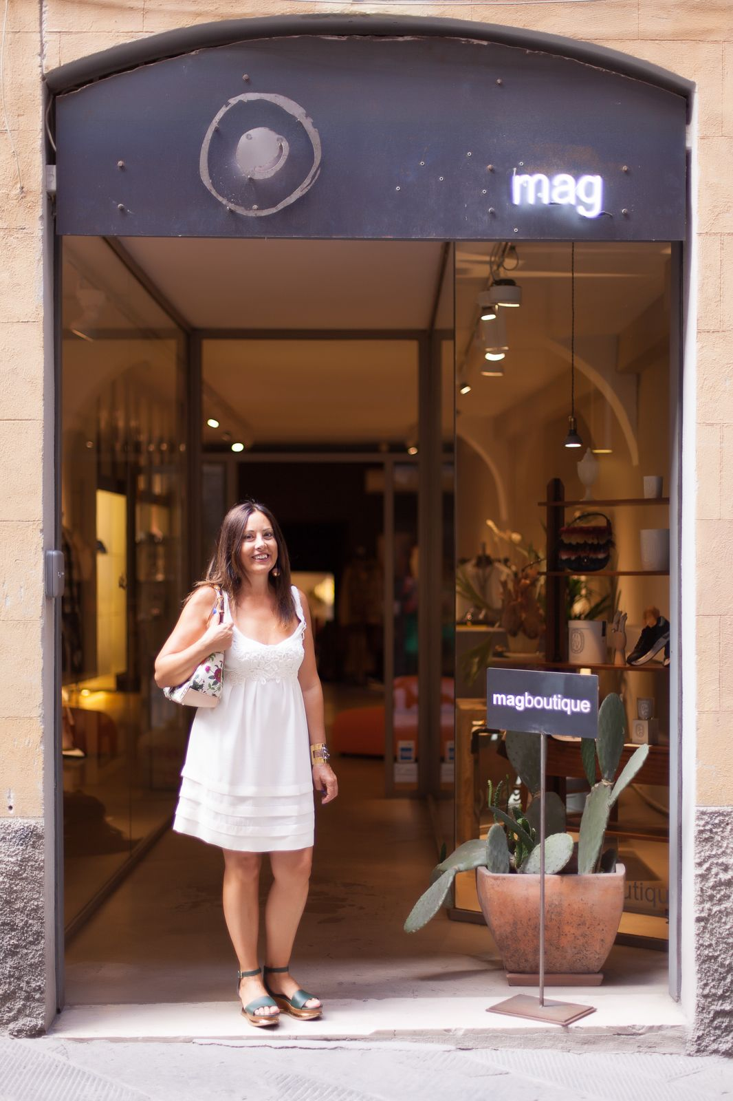 our shopping in siena