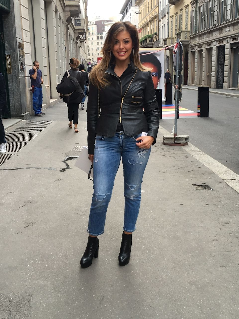 Street Style: beautiful women of Milan
