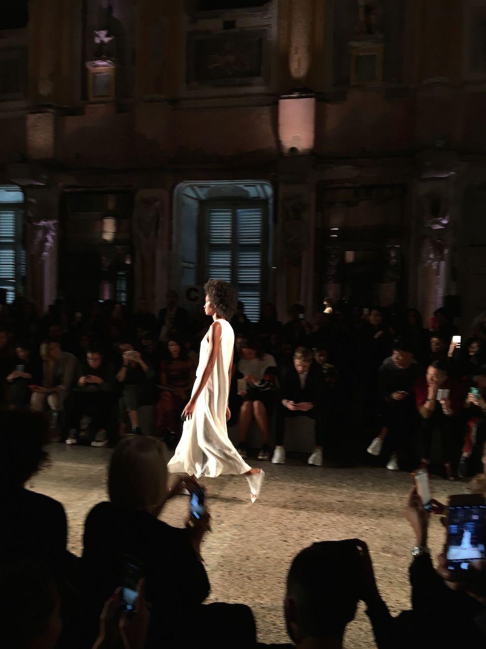 Uma Wang fashion show