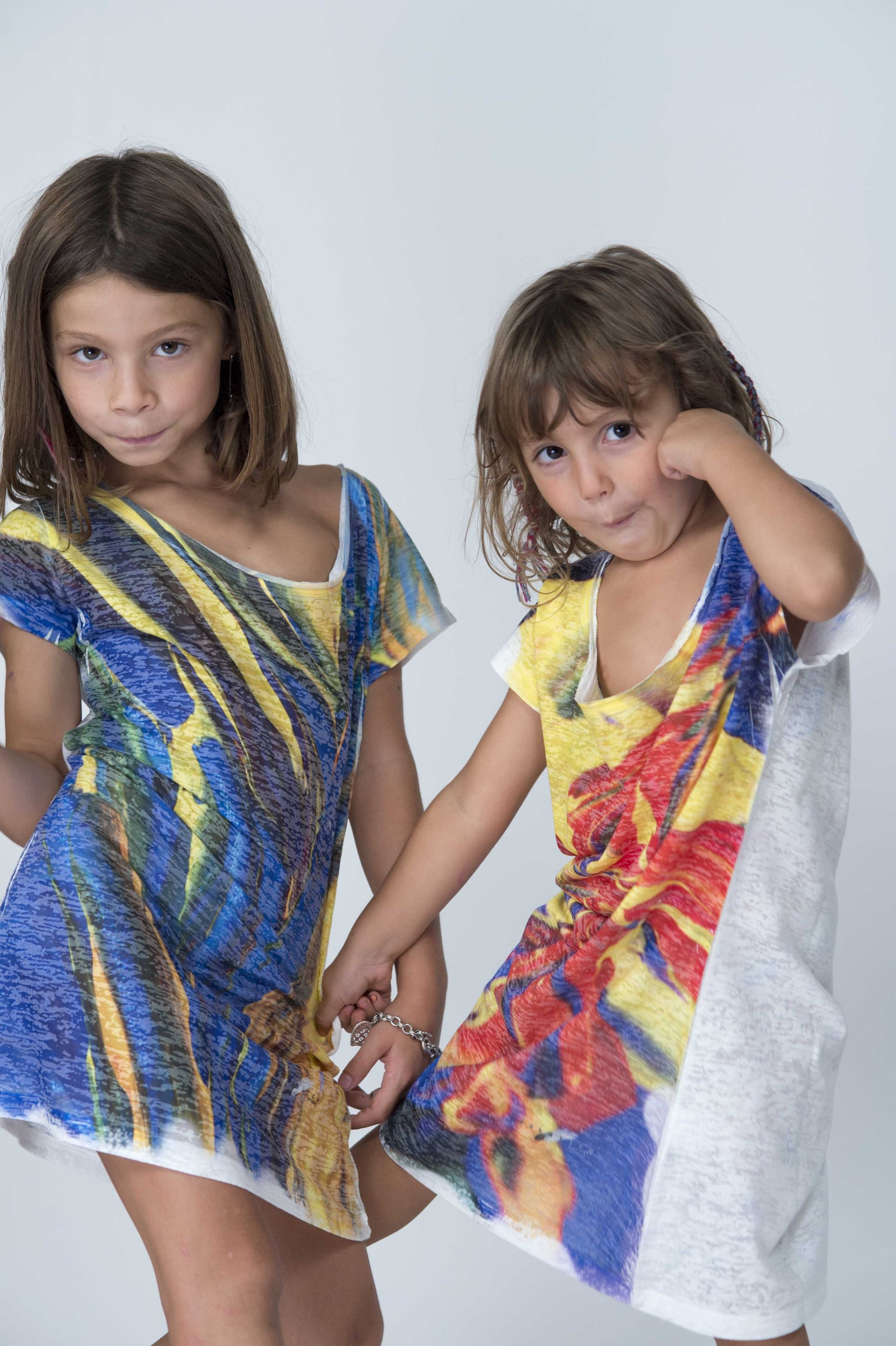 ZakSlice, when art becomes fashion - It comes from Siena the artistic duo that will allow you to wear amazing paintings - kids with ZakSliceproget t-shirt - not only twenty fashion blog #fashionover40
