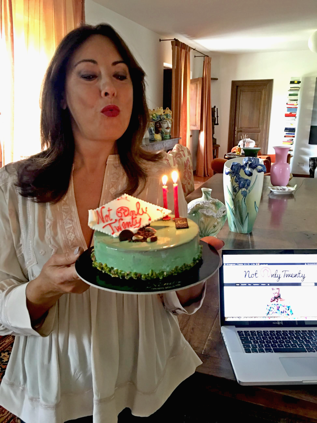 Happy birthday Not Only Twenty - fashion blog, blogging my new passion over40 over50 - have fun with fashion, dress to express yourself