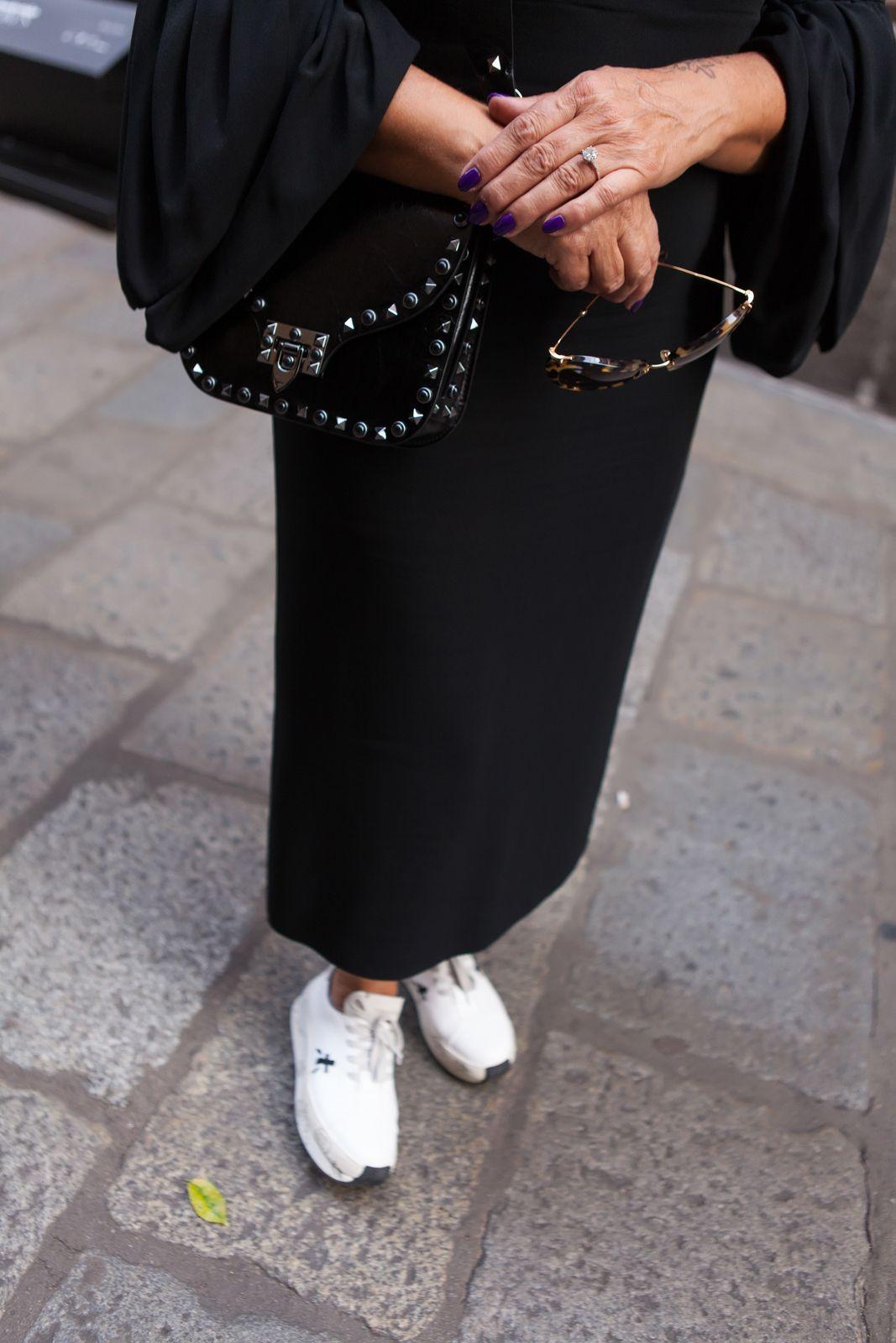 sneakers high heels