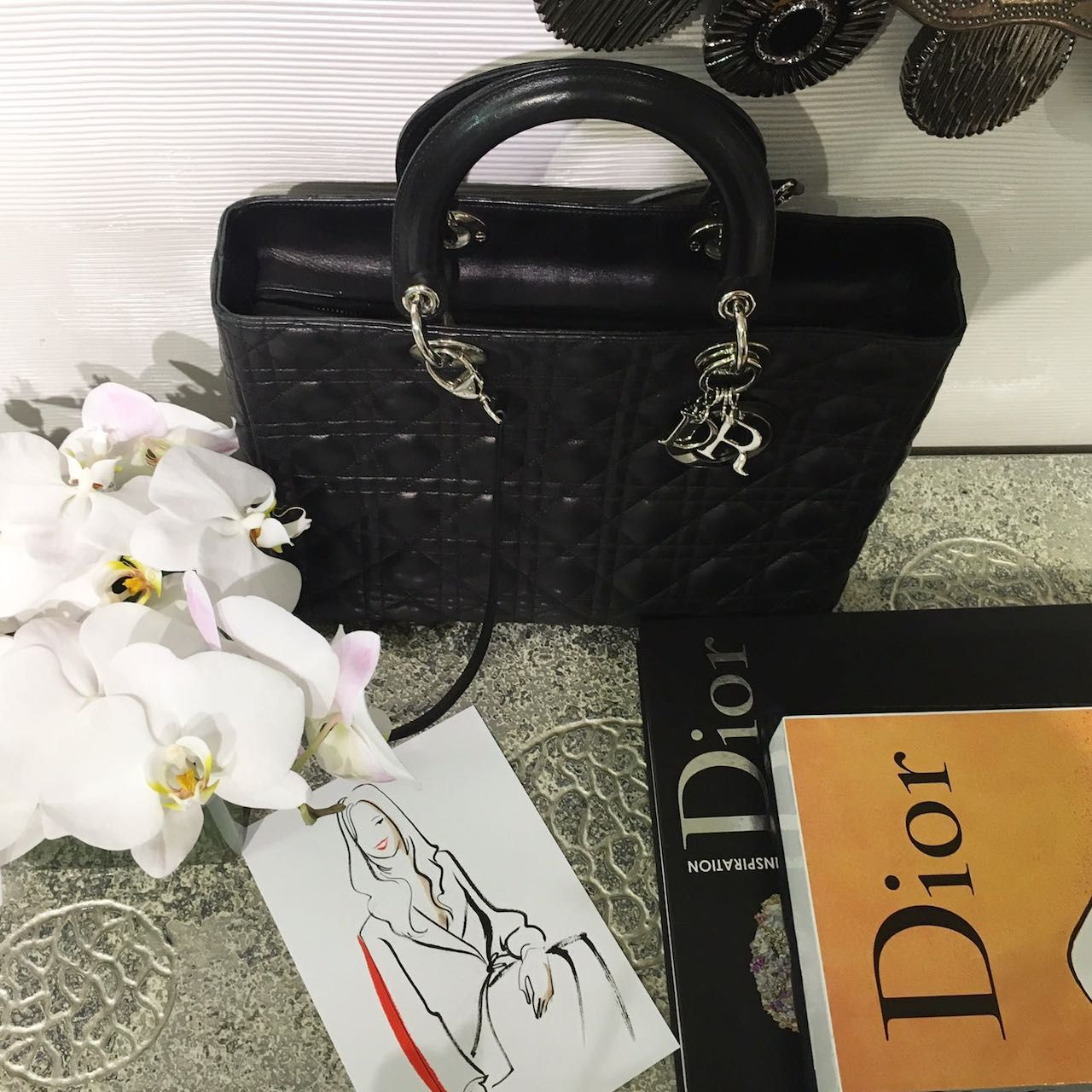Cocktail party at Boutique Dior
