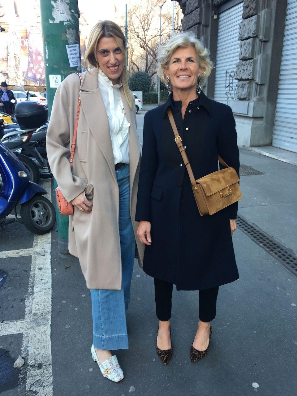 Wonderful people in the streets of Milan