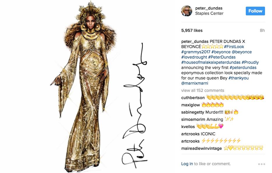 Beyoncé found the Goddess of love in her feminine journey peter dundas - not only twenty fashion blog