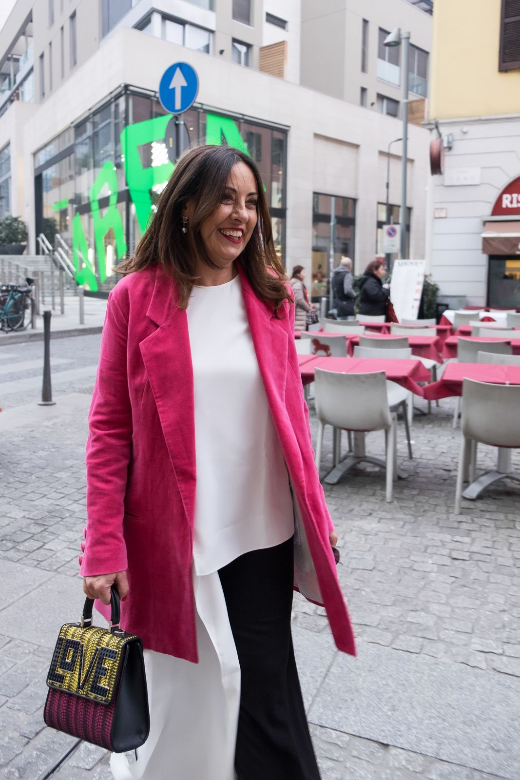 positive energy in pink