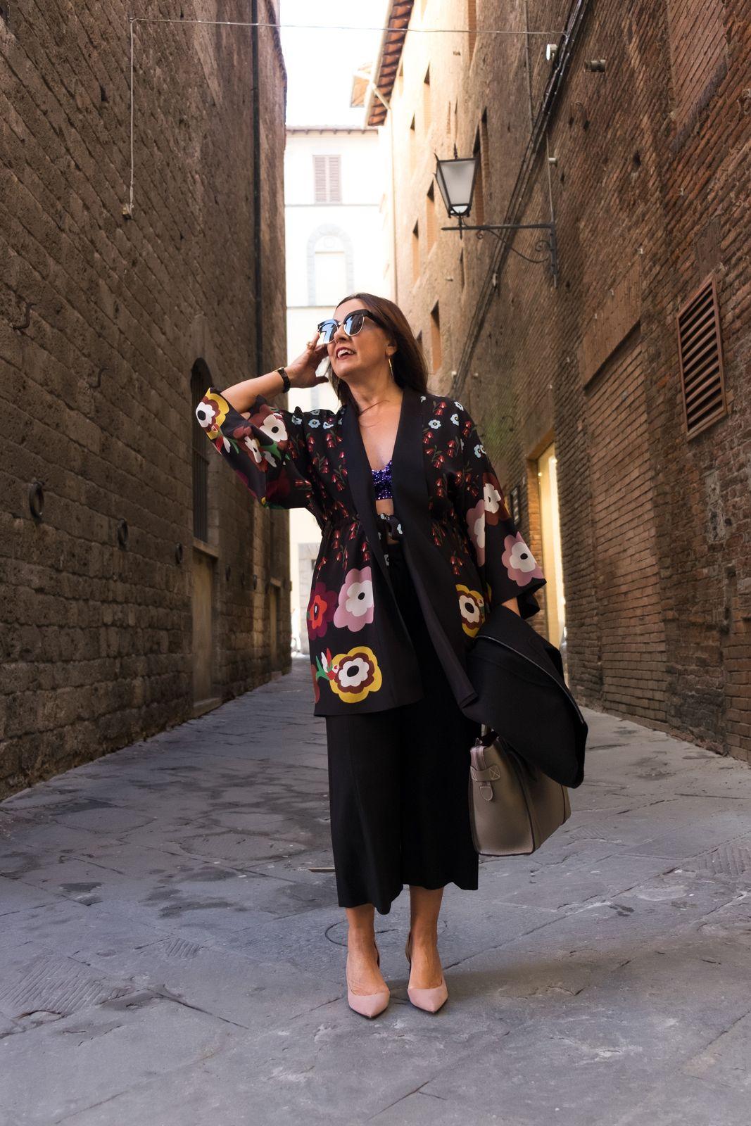 My silk kimono for sunny days