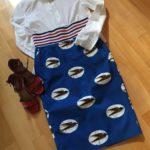 Stella Jean skirt Rita Palazzi fashion blog