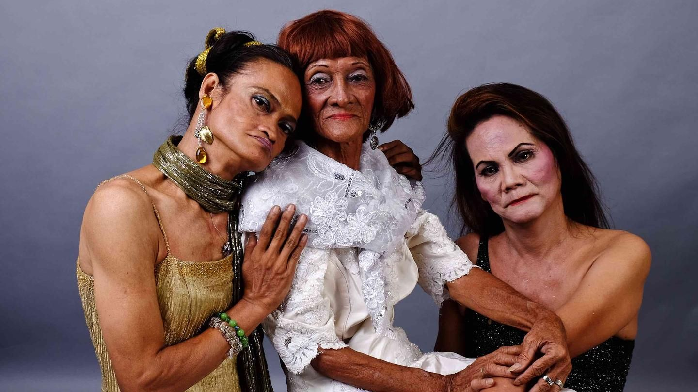 "The elegant dignity of the elderly drag queens ""Golden Gays"""