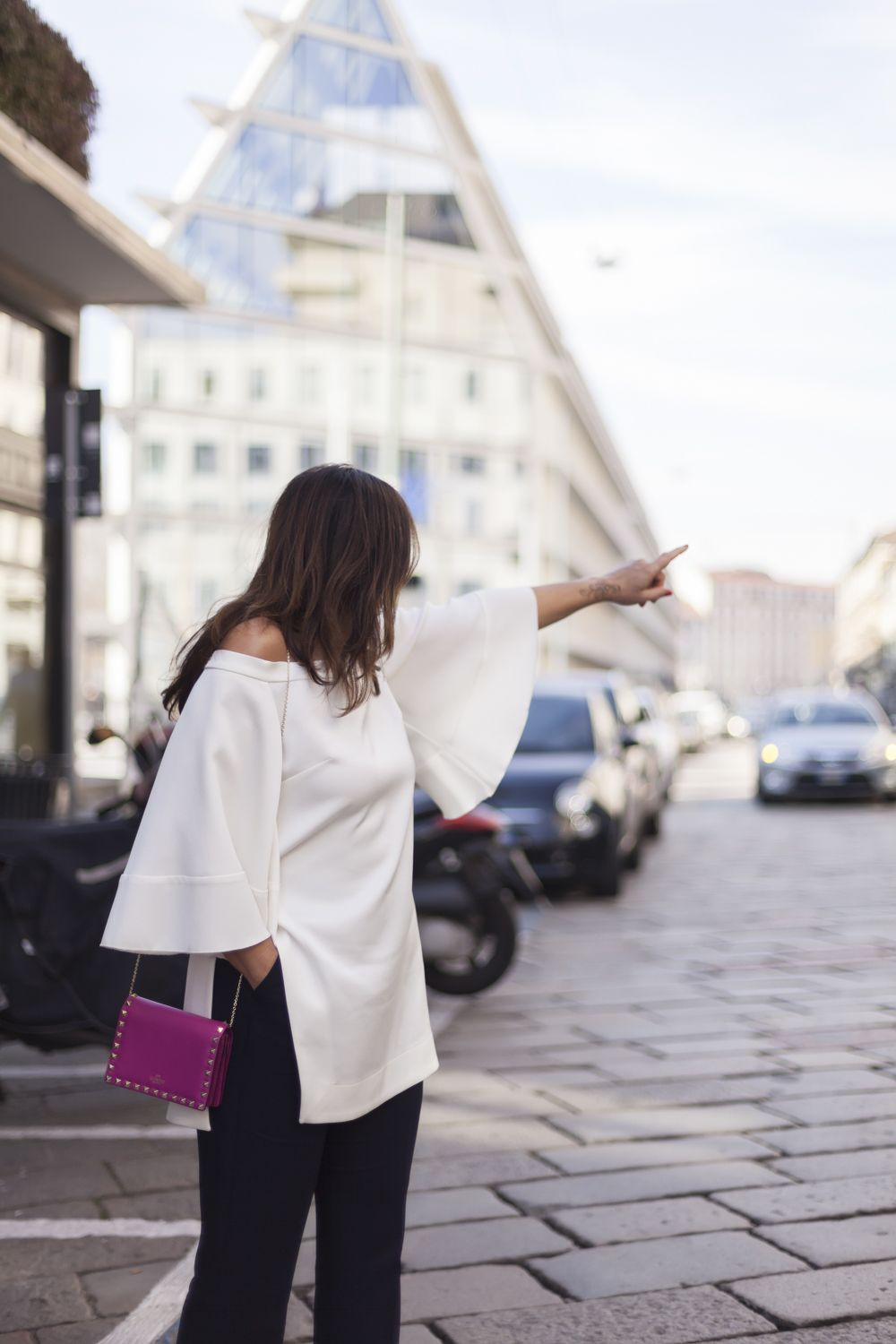 How to make a white top a special one