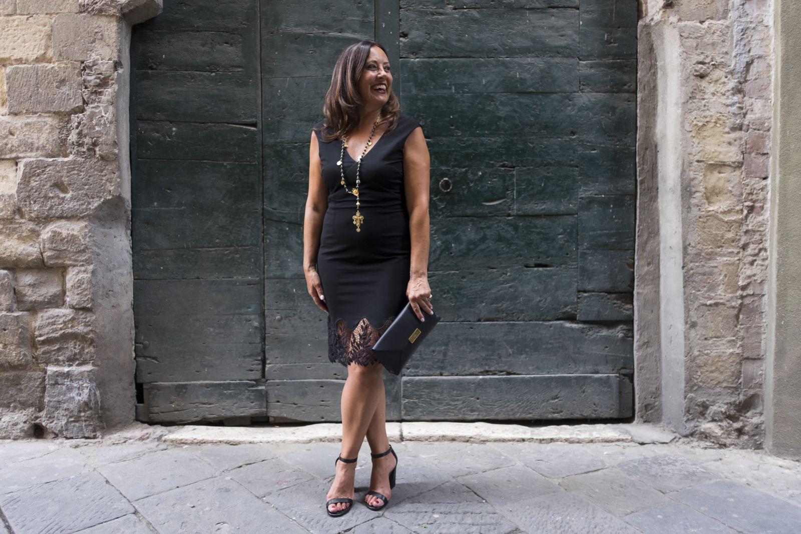 Little black dress Not Only twenty