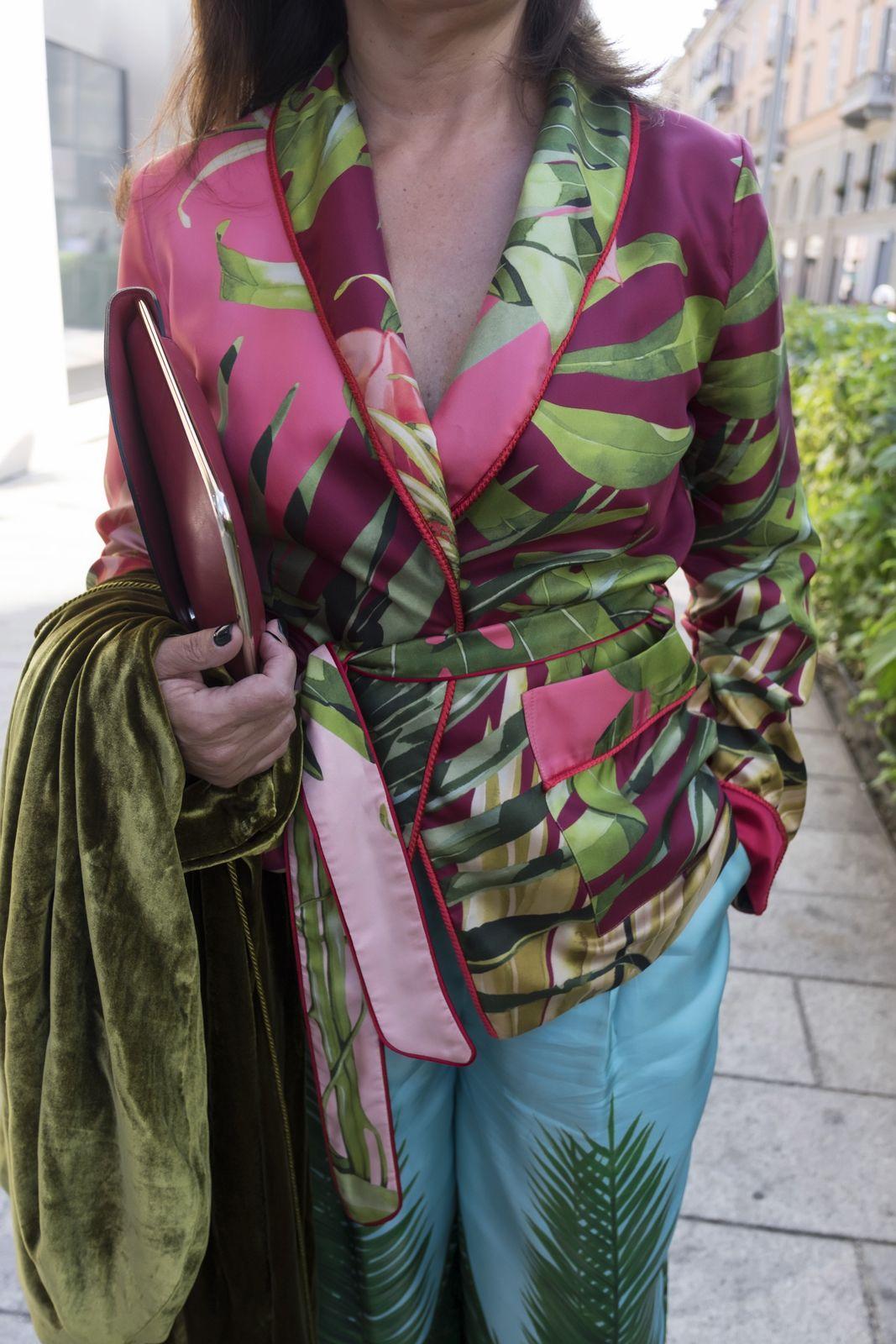 Fashion for woman over fifty Rita Palazzi