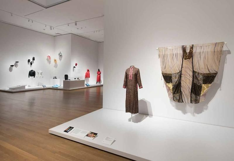 At New York MoMa fashion is on scene
