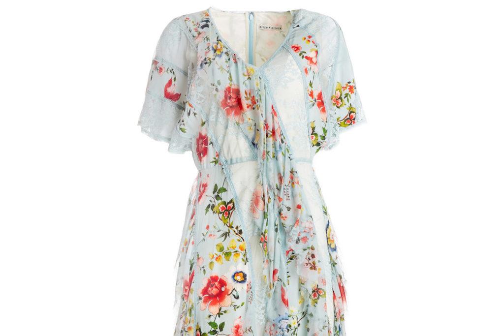 L'abito a fiori: il trend di primavera