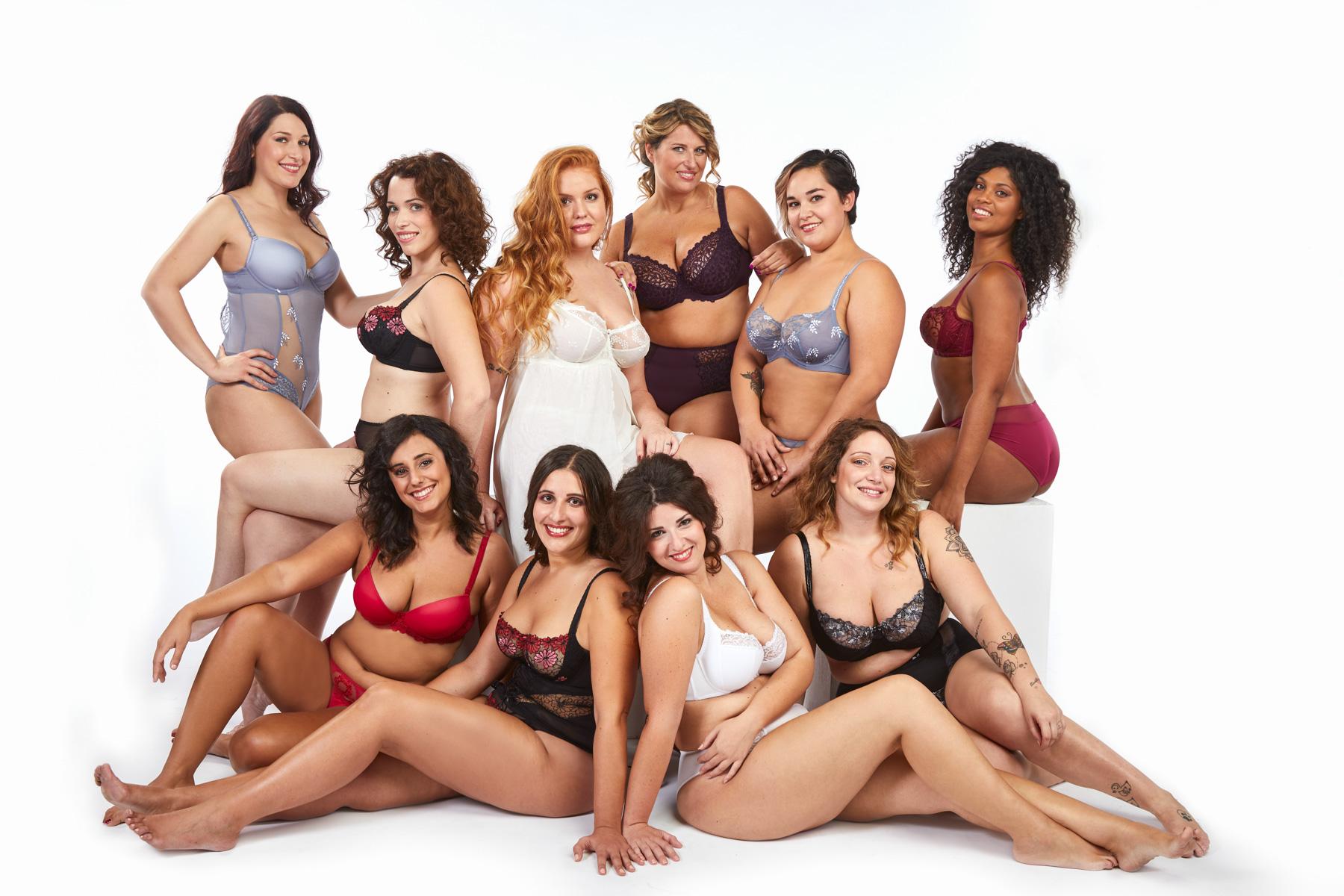 Calendario Donne Formose.Curvy Di Moda Con Barbara Christmann Not Only Twenty